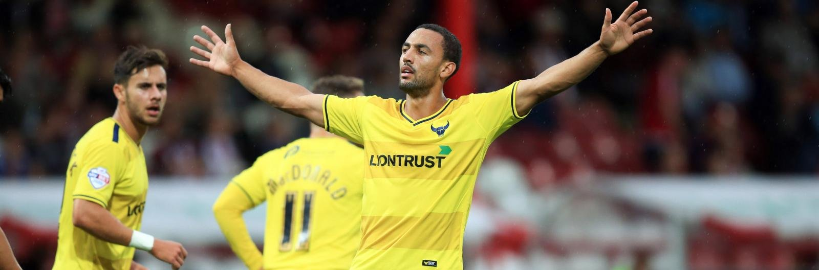 Interview: Kemar Roofe focused on firing Oxford to promotion