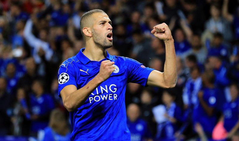 Manchester United could complete a shock loan move for Leicester City striker Islam Slimani