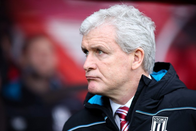 Mark Hughes delighted Stoke City stalled former club Manchester City