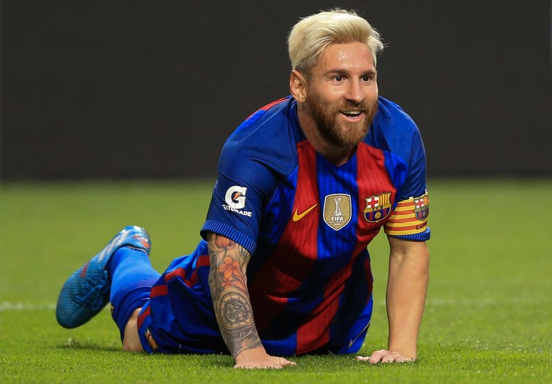 Manchester City plot world record £100m deal for Messi