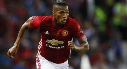 Manchester United star Antonio Valencia is top of West Ham United's summer wishlist