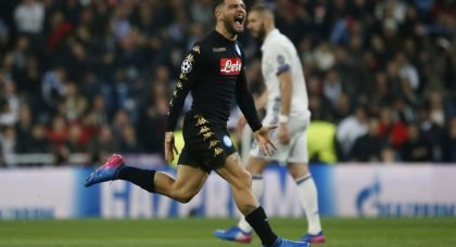 Chelsea look to Insigne as Hazard replacement