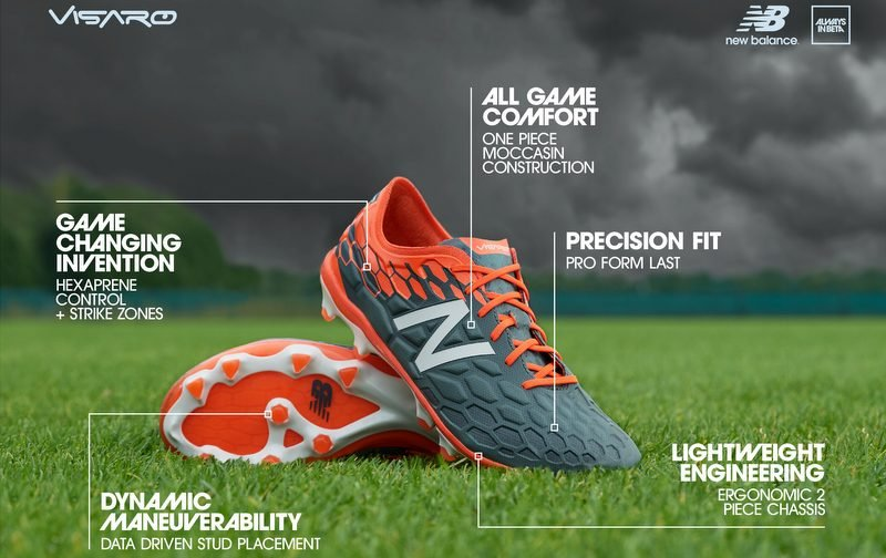 COMPETITION HAS ENDED: New Balance Visaro 2.0 boots!