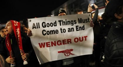 Time to Go: Arsene Wenger has let down Arsenal for the past 10 years
