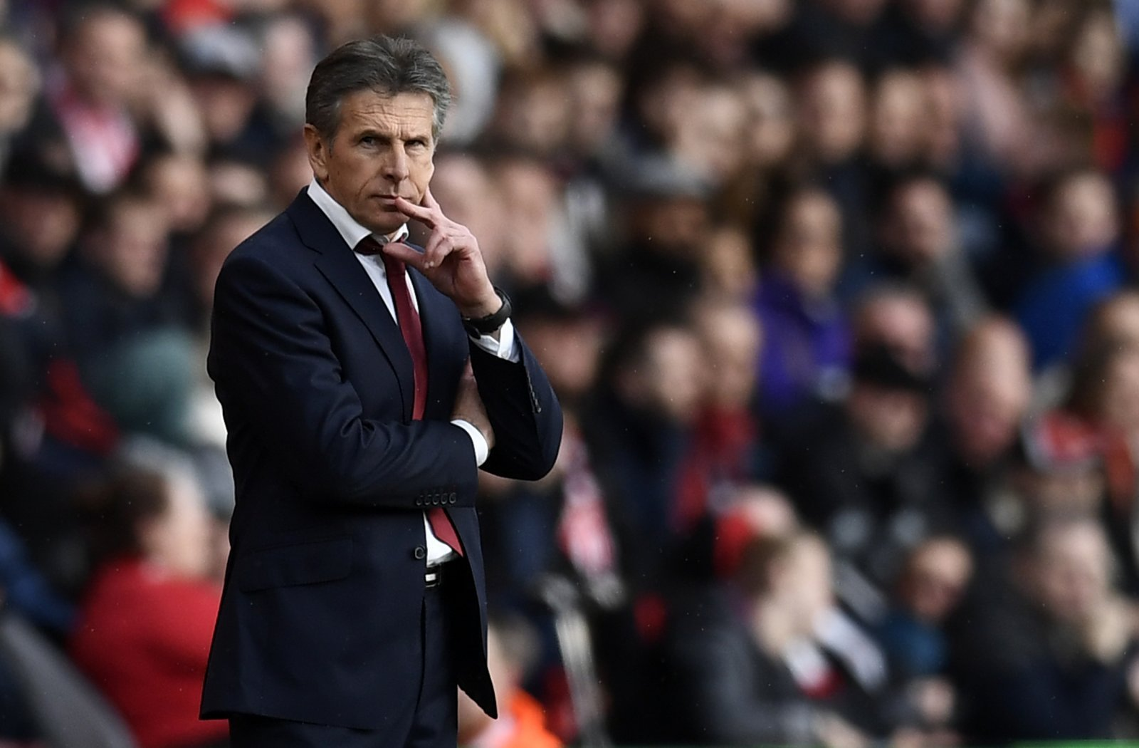 Puel expects Liverpool target Van Dijk to stay at Southampton