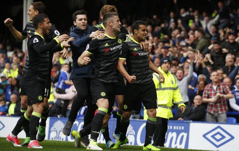 Chelsea dispatch Everton to close in on Premier League title