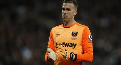 West Ham fans react to Adrian extension