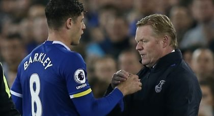 Ross Barkley set for Everton exit after rejecting new contract offer
