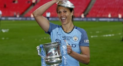 Carli Lloyd adds to her Wembley legendary status as Manchester City win FA Cup final