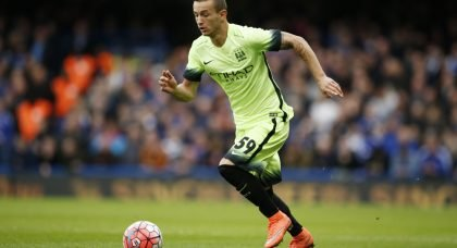 Leeds one of three clubs Man City's Bersant Celina will join this summer