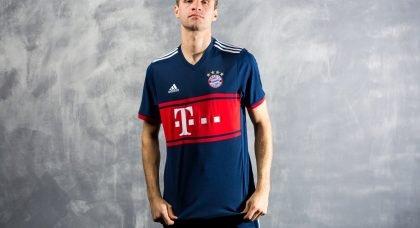 Bayern Munich revive old fan favourite with new adidas Football 2017-18  Away Kit 624e08c6e