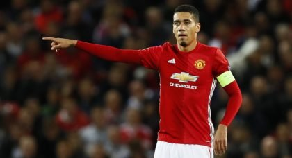West Brom preparing £10m offer for Manchester United and England defender Chris Smalling