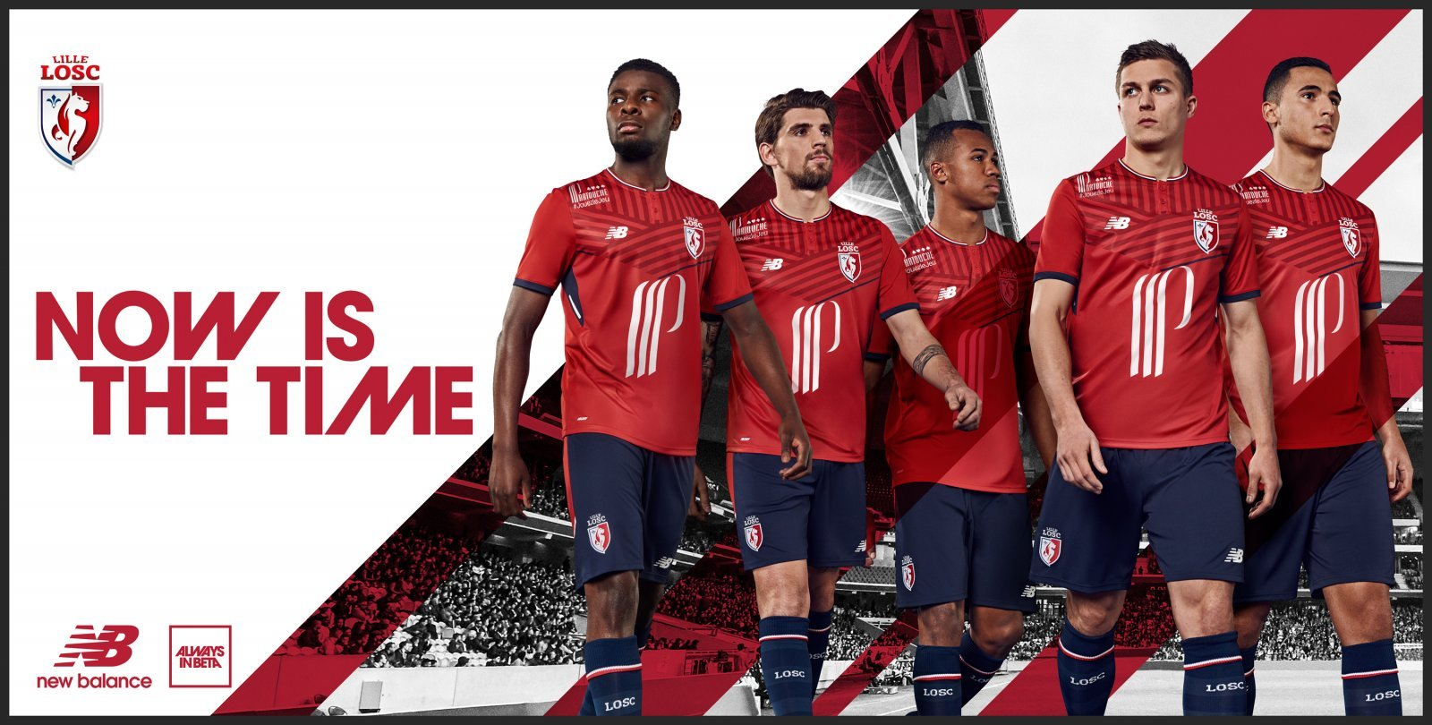promo code b8636 3fb6b New Balance reveals new Lille OSC 2017-18 kit collection | Shoot