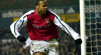 Career in Pictures: Arsenal legend Thierry Henry