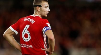 Manchester City eyeing £20m raid for Middlesbrough and England defender Ben Gibson