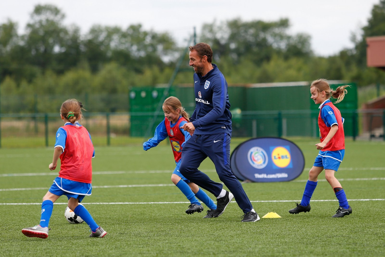 England Manager Gareth Southgate Surprises Young