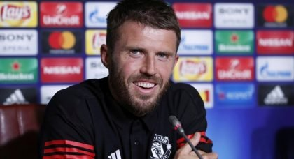 Michael Carrick has no intentions of leaving Manchester United – despite Leicester, West Brom and Aston Villa interest
