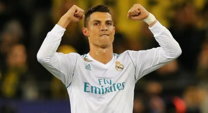 Real Madrid forward Cristiano Ronaldo wins his fifth Ballon d'Or to match Lionel Messi's tally
