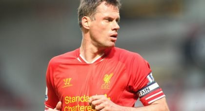 Career in Pictures: Liverpool legend Jamie Carragher