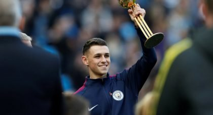 SHOOT for the Stars: Manchester City's Phil Foden