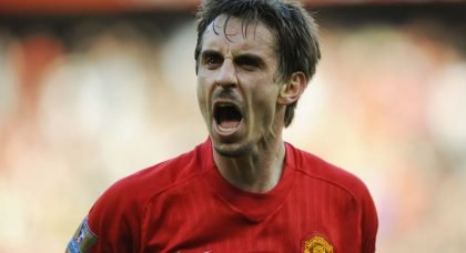 Career in Pictures: Manchester United legend Gary Neville