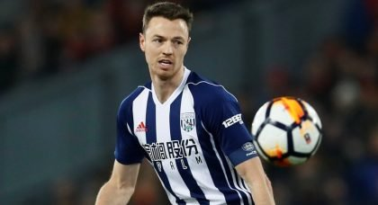 Arsenal confident of pulling off £25m deal for West Bromwich Albion captain Jonny Evans