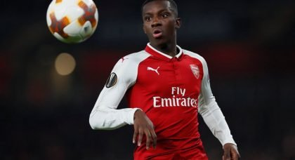 SHOOT for the Stars: Arsenal's Eddie Nketiah