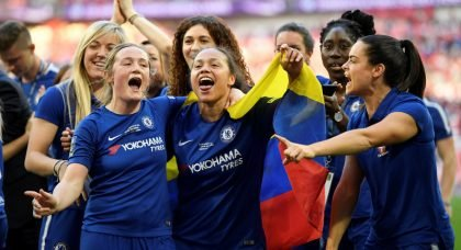Chelsea Ladies secure 'The Double' after winning the Women's Super League 1 title