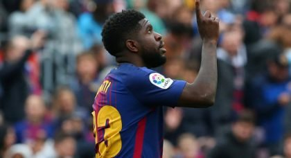 Manchester United target Samuel Umtiti could be sold by FC Barcelona