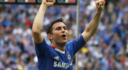 Career in Pictures: Chelsea legend Frank Lampard