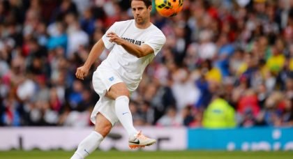 EXCLUSIVE: England's Jamie Redknapp determined to get the better of his father Harry Redknapp in Soccer Aid