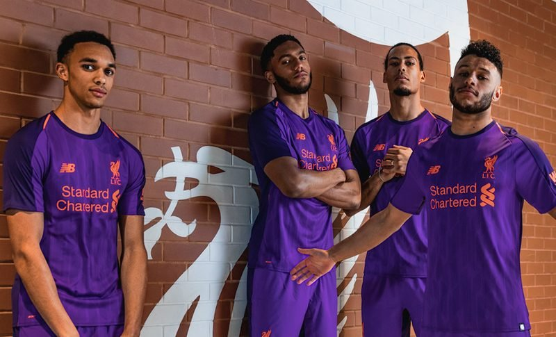 new product 43fde 23595 New Balance reveals Liverpool FC 2018-2019 away kit | Shoot