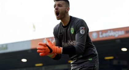 Southampton eyeing £15m deal for England and Manchester City goalkeeper Angus Gunn