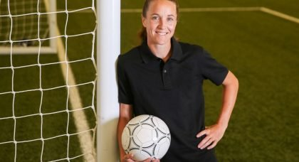 Former England captain and Manchester United head coach Casey Stoney to write three children's books