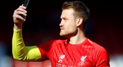 Crystal Palace eye move for Liverpool goalkeeper Simon Mignolet