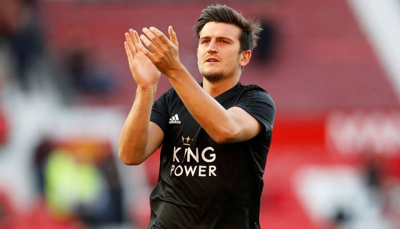 Manchester United will need to pay £90million to land Leicester City star Harry Maguire