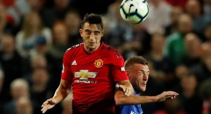 Manchester United defender Matteo Darmian hunted by Serie A duo