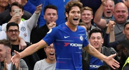 Chelsea left-back Marcos Alonso wanted by Atletico Madrid