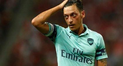 Arsenal offer Mesut Ozil to Juventus and Inter Milan
