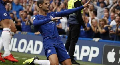 Chelsea aim to bring in striker after losing faith with Alvaro Morata