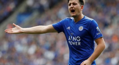 Manchester United agree world-record fee with Leicester City for Harry Maguire