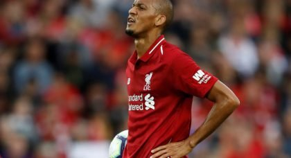 Serie A duo lead the race to sign Liverpool midfielder Fabinho