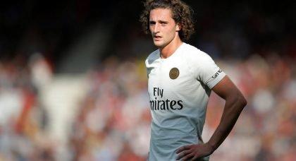 Manchester United eye Paris Saint-Germain outcast Adrien Rabiot on a free transfer