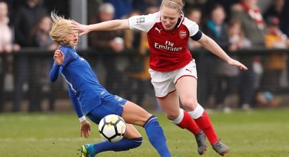 Arsenal midfielder Kim Little ruled out for up to 10 weeks
