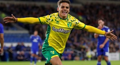 Arsenal and Chelsea target Max Aarons signs new long-term Norwich Deal