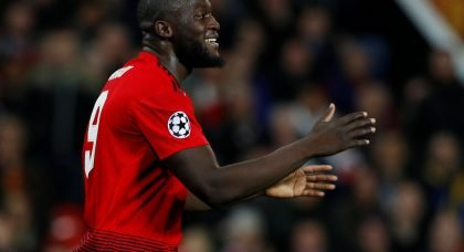Manchester United star Romelu Lukaku open to Serie A switch