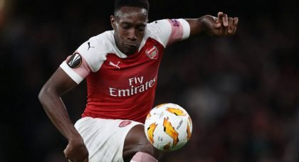 England striker Danny Welbeck set to leave Arsenal on a free transfer next summer