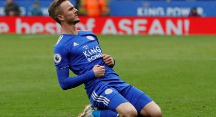 Manchester United lead to race to sign Leicester City star James Maddison