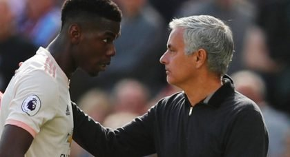 Paul Pogba threatens to quit Manchester United if manager Jose Mourinho stays