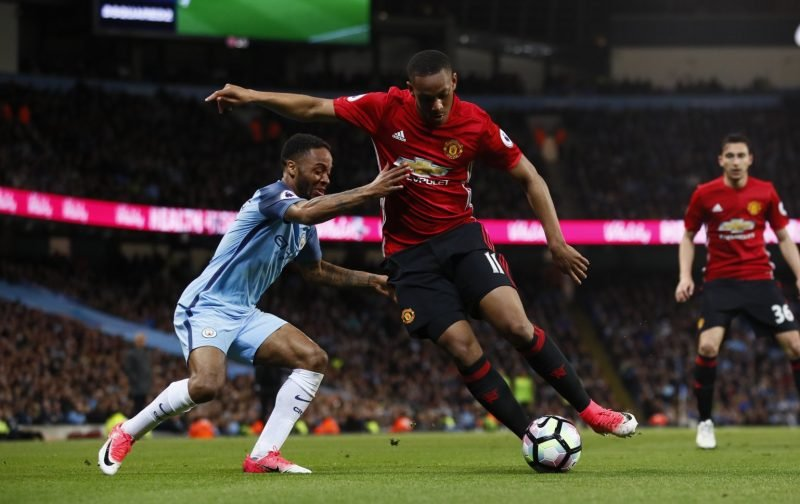 Premier League: Raheem Sterling (Manchester City) v Anthony Martial (Manchester United)